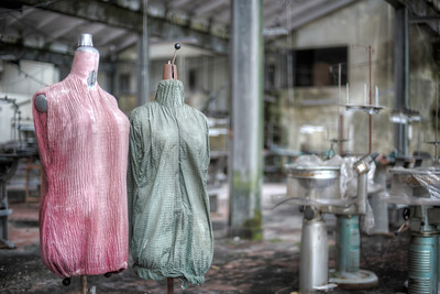 Puppets - Mannequin dolls left behind in a former sewing factory
