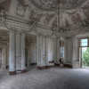 Lost Angels - Abandoned villa with a stunning view and angel decorated ceiling.