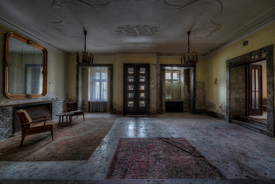 You can check out any time, but you can never leave. - Abandoned hotel lobby