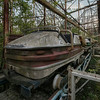Number 2 - Abandoned roller coaster ride that is being reclaimed by nature