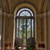 A room with a view - The view from this abandoned villa is stunning. Massive roman-like columns at the gate and overgrown statues in the garden.