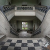 Bend Concrete - This abandoned orphanage houses a neat curved staircase