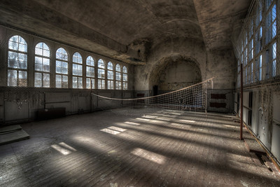 The Net - Recreation hall in a former Sanitarium