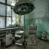 Leucotomy - Operating theater in an abandoned insane asylum where they cut nerves in the prefrontal lobe of the brain trying to cure insanity.