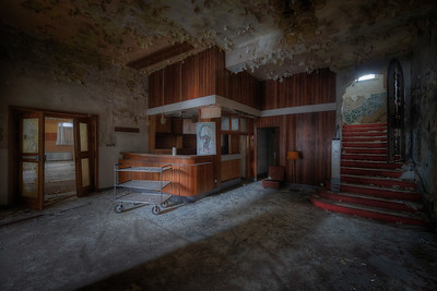 Check In - Abandoned hotel lobby