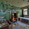 Infected - a very unhealthy room inside a former ski resort.